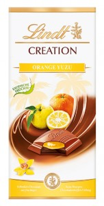 Lindt Czekolada Orange Yuzu 150g