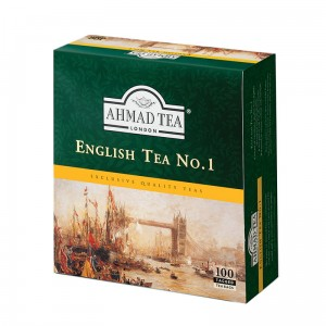 Ahmad  Herbata  English Tea No 1 (100 saszetek ze sznurkiem)