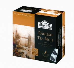 Ahmad  Herbata  English Tea No 1 (100 torebek bez zawieszki)