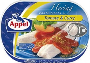 Appel  Śledź Tomate & Curry 200g