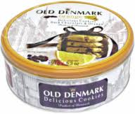 Ciasteczka Old Denmark Orange 150g