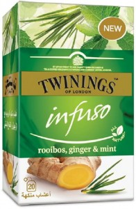 Twinings Infuso Rooibos, Ginger & Mint  20x 2g