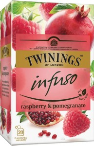 Twinings Infuso Raspberry & Pomegranate 20x2g