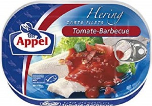 Appel Hering Tomate Barbecue 200g
